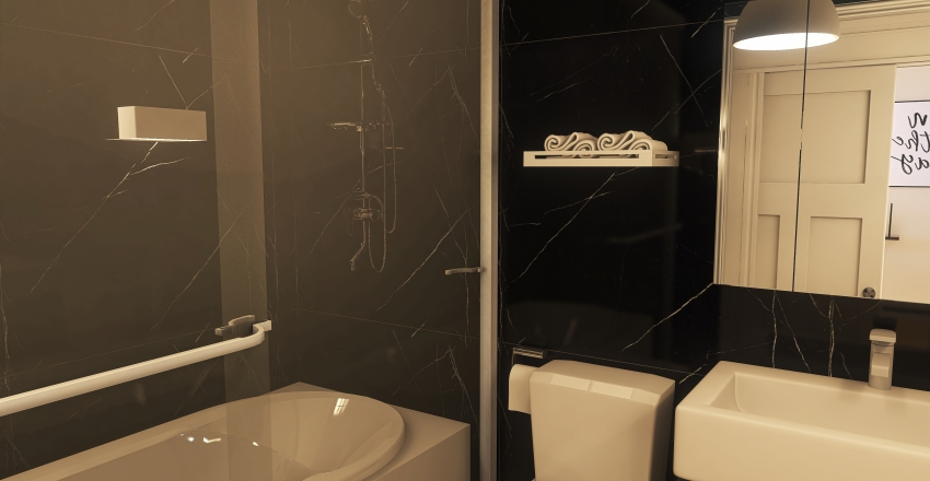 #HSDA2020Residencial Projeto Funcional e Estiloso Interior Design Render