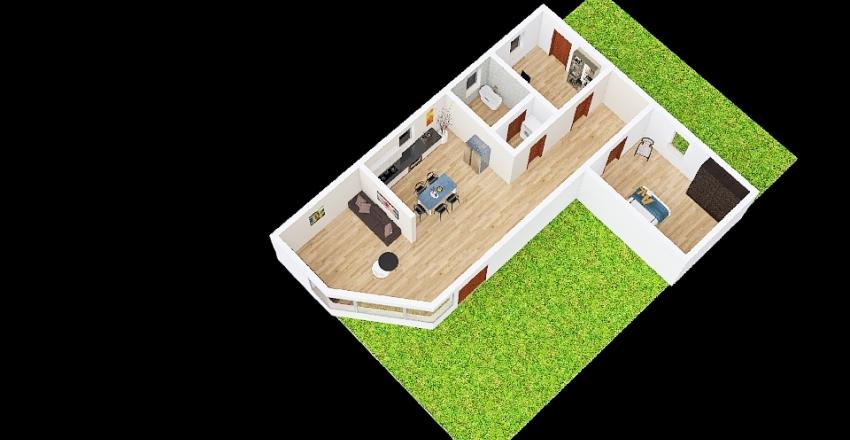 progetto 1 chiara mussat_copy Interior Design Render