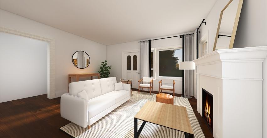 KELLY PROJECT-LIVING ROOM Interior Design Render