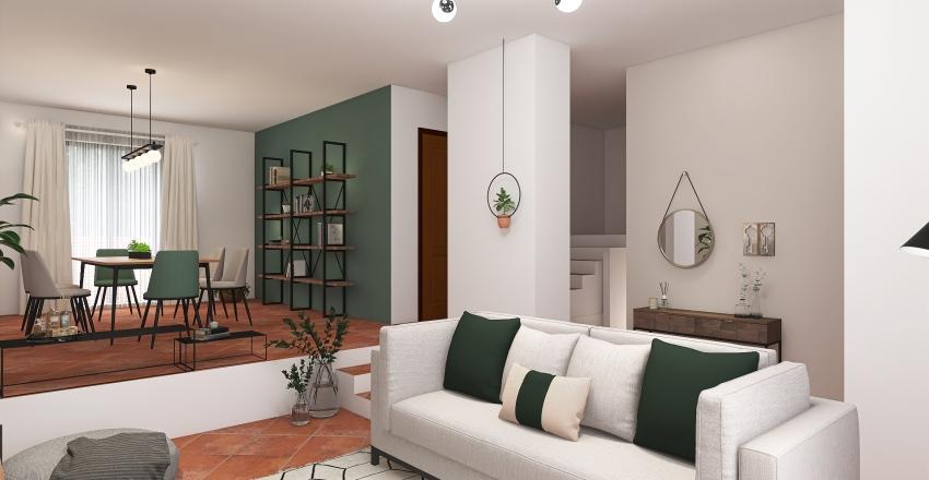 bifamiliare via calzolai Interior Design Render