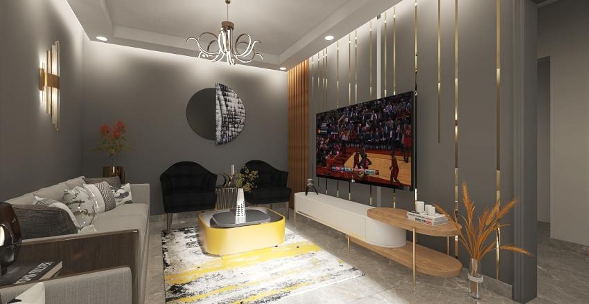 VILLA MR-ADEL Interior Design Render