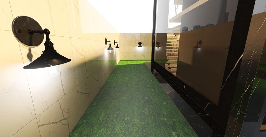 home businessman Interior Design Render