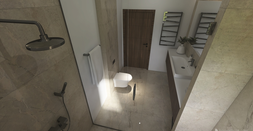 Vaida Rapalytė Interior Design Render