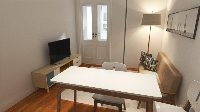 LAURENT - RUA ANDRADE Interior Design Render