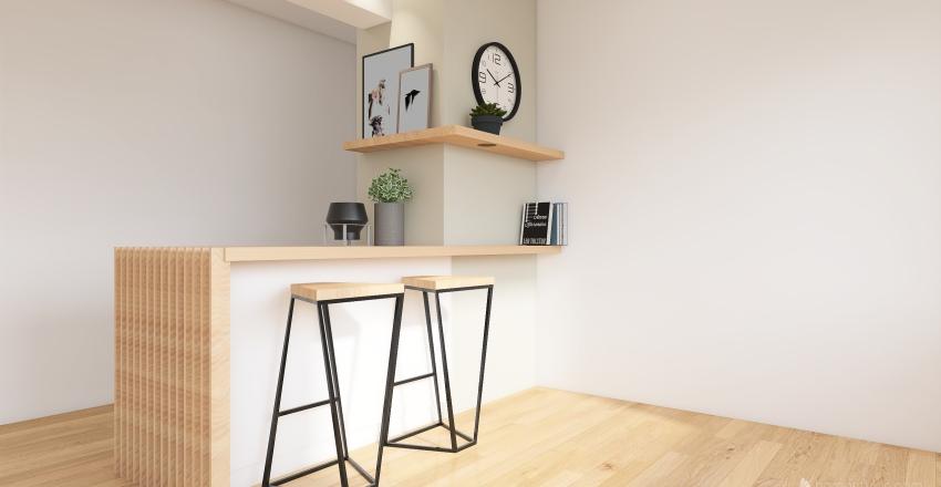 1Č Interior Design Render