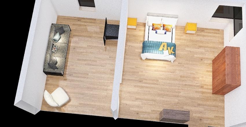 Stanza di prova Brogliatti Interior Design Render