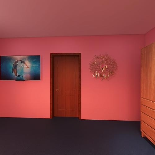 First project one bedroom Interior Design Render