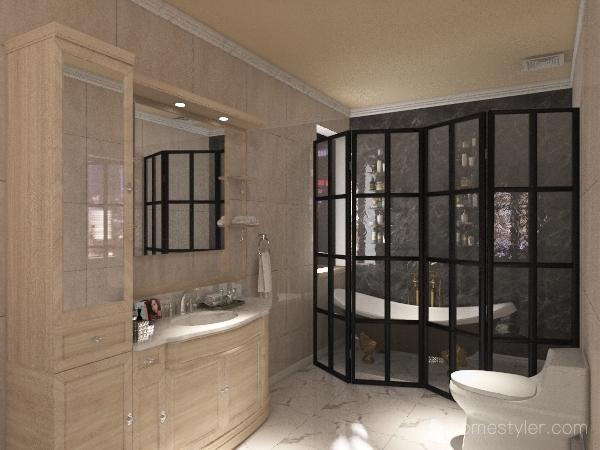 #HSDA2020Residential-Bathroom Interior Design Render