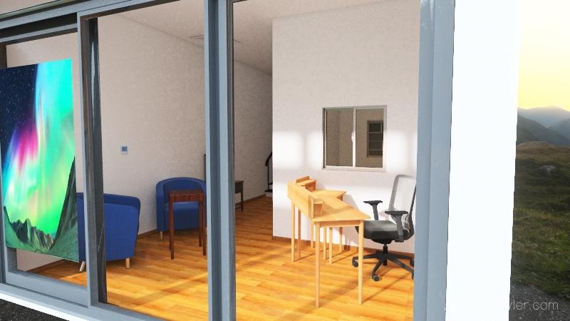 QRUF clinic Interior Design Render