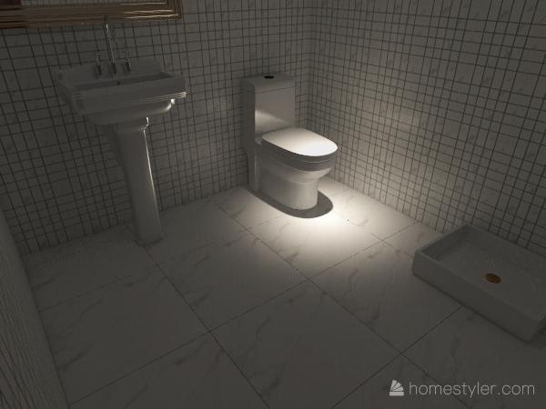 المشروع الحمام Interior Design Render