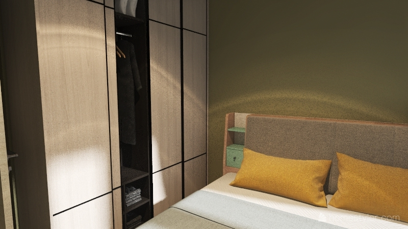 mieszkanie projekt nr 1 Interior Design Render