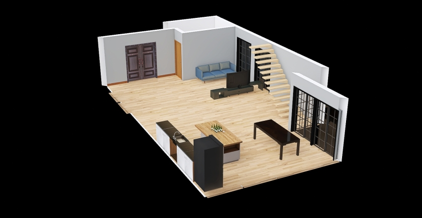 CASA2 Interior Design Render