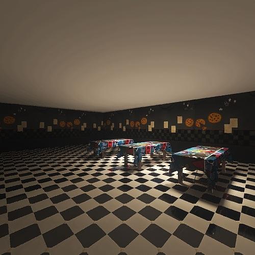 fnaf room 2 Interior Design Render