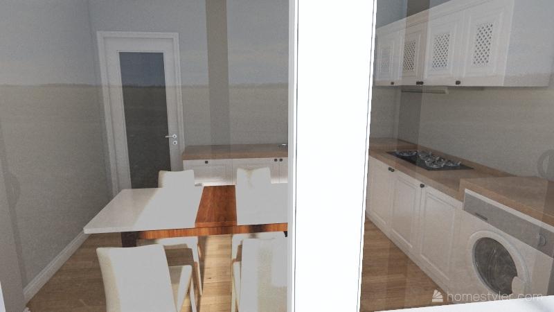 квартира М4.6 СУ1 Interior Design Render
