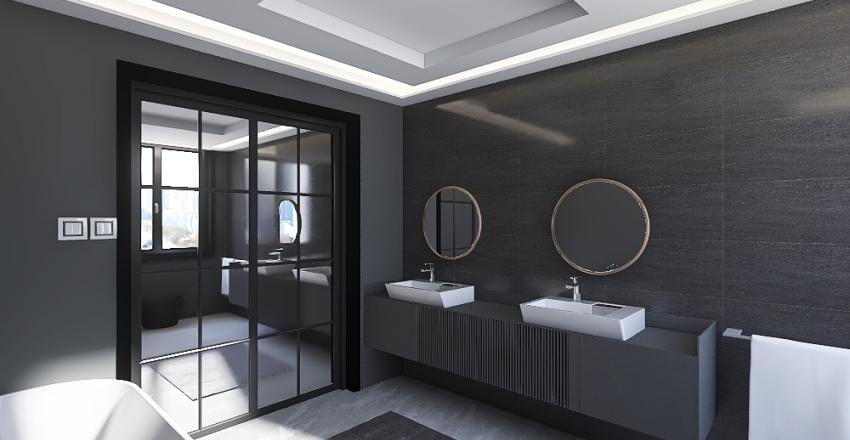 Lakás Interior Design Render