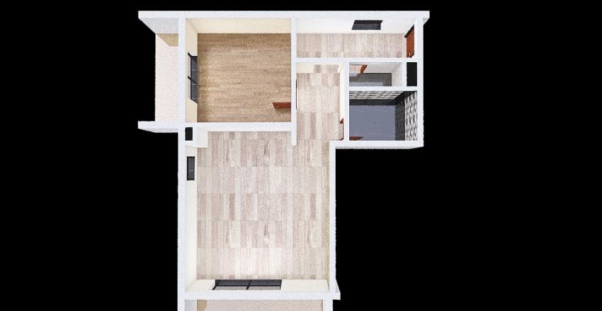 apartmán 3A Nová Sladovňa Košice Interior Design Render