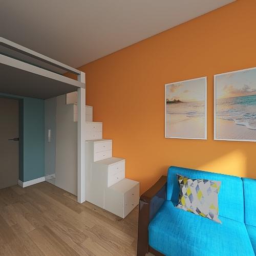 СА 02 Interior Design Render