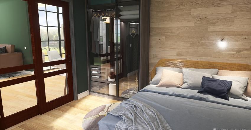 casa dos Loud Interior Design Render