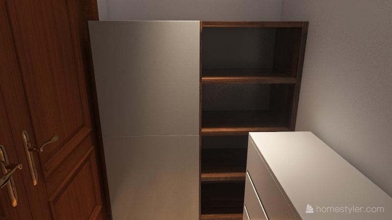 Regular Bedroom Interior Design Render