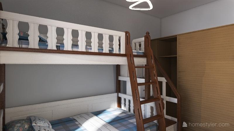 v2_Проект квартиры1 Interior Design Render