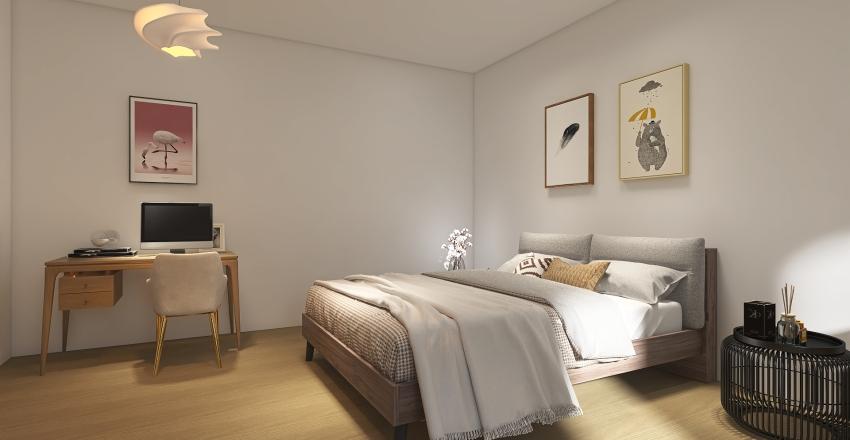 Naomi's bedroom  Interior Design Render