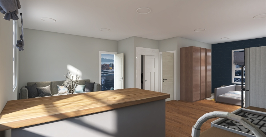 Studio 2 Interior Design Render