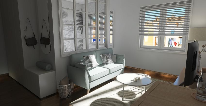 Studio vert d'eau Interior Design Render