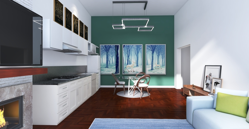 Studio Galore Interior Design Render