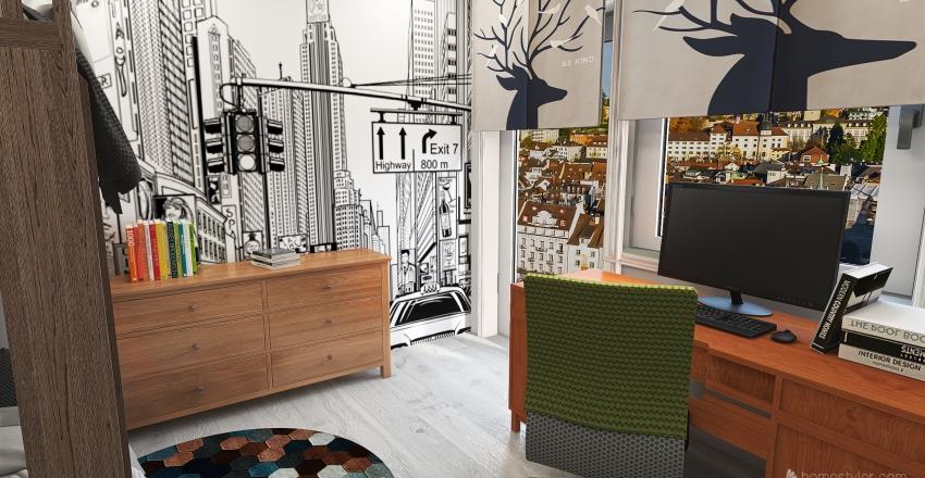 Emilka i dzieci Interior Design Render