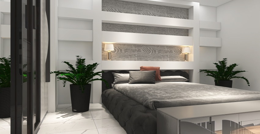 Sea Port Holiday Home: By The Bay: Glamorous Getaway Interior Design Render