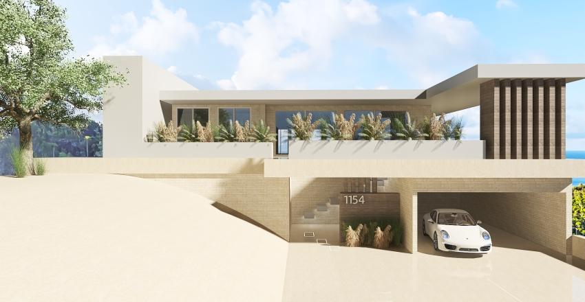 Casa del Medio Oriente Interior Design Render