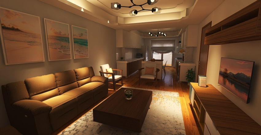 Reem Home Interior Design Render