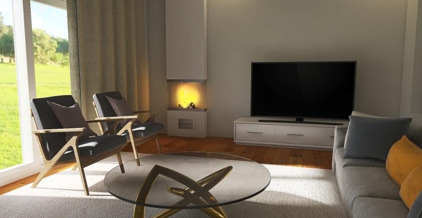 Porto Living room/Kitchen Project Interior Design Render
