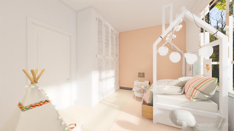Segundo Piso Interior Design Render
