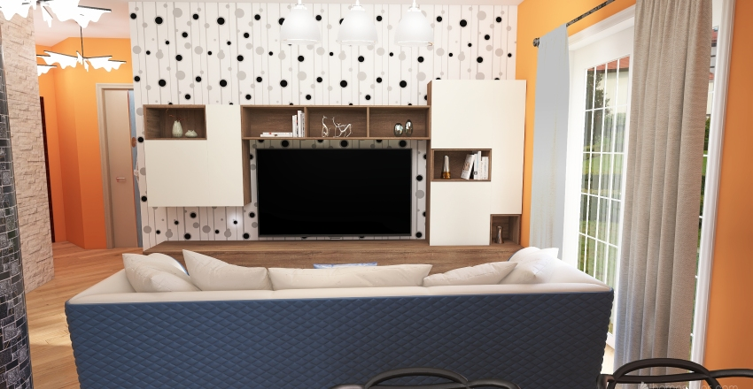 Via Bovero Selavaggio Interior Design Render