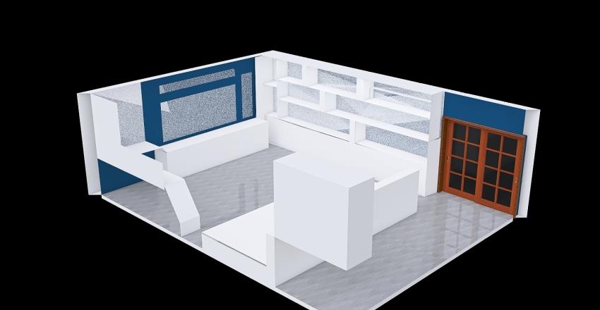 quarto gammer Interior Design Render