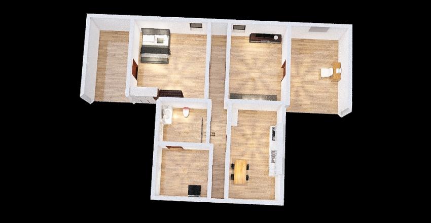 progetto 3d Interior Design Render