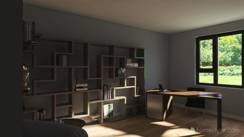 casa progetto scuola Interior Design Render