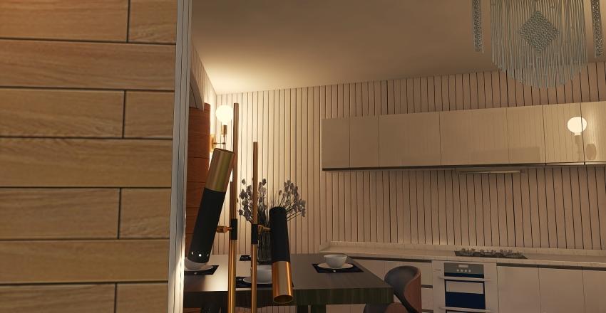 #HSDA2020Residential House in Woods Interior Design Render