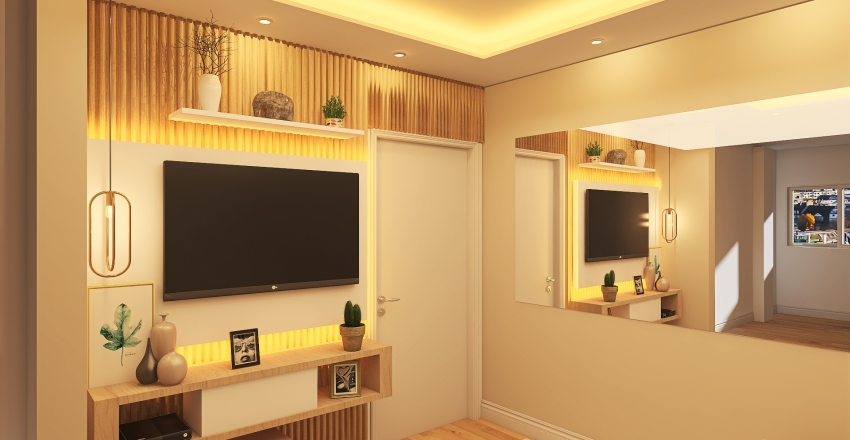 Daiene Cristina Pereira - UPK Interior Design Render