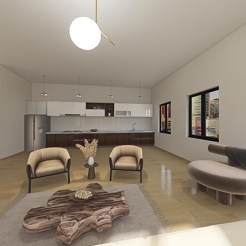 Contemporary by Kalani Interior Design Render