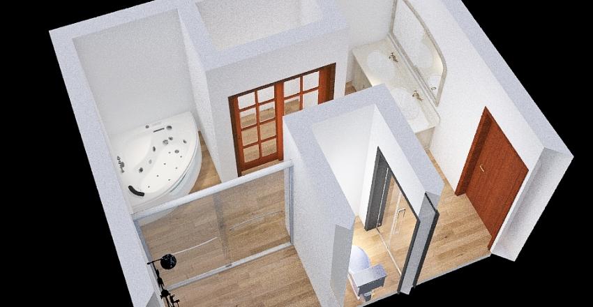 Master Bathroom Design Interior Design Render