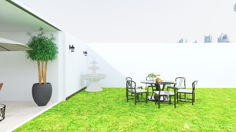 Mi Casa De Vacaciones. Interior Design Render