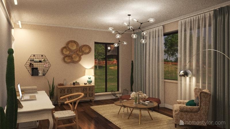 taller wendy ramos Interior Design Render