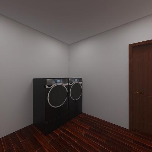 third project equipment room. Interior Design Render
