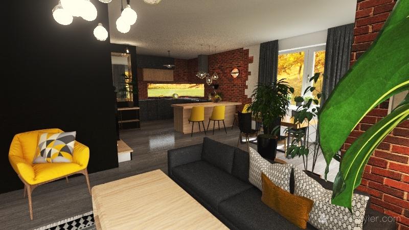 Lenka mała Interior Design Render