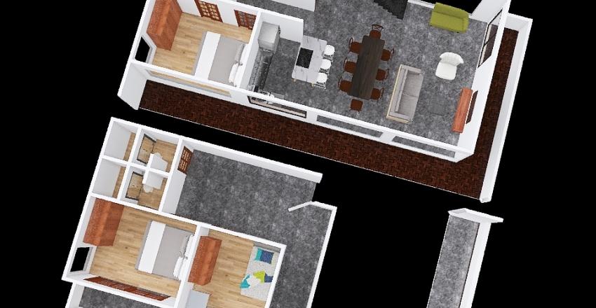 Minimalista_Com2Andares_20201119 Interior Design Render