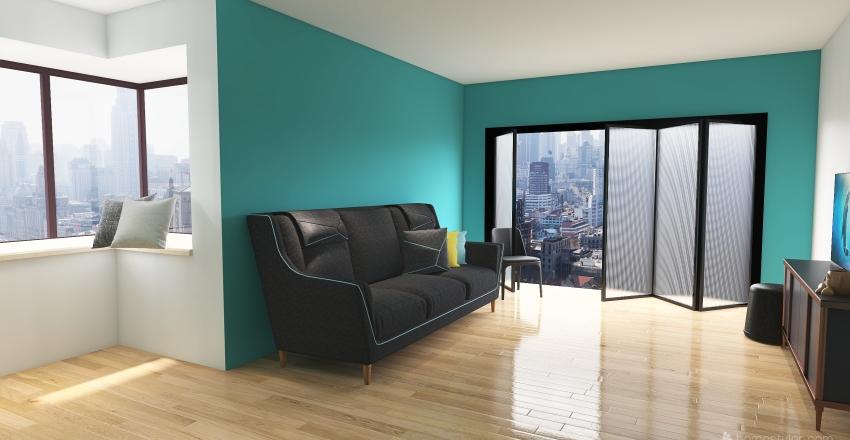 country living Interior Design Render