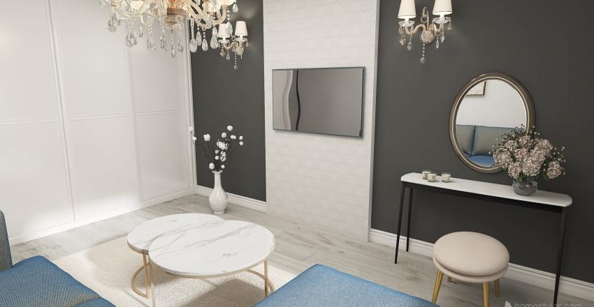 sypialnia Jussi Interior Design Render