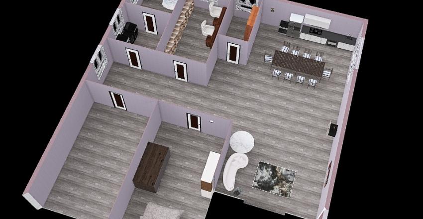 Progetto Unità Abitativa 19/11/2020 ( 2020-2021) Interior Design Render